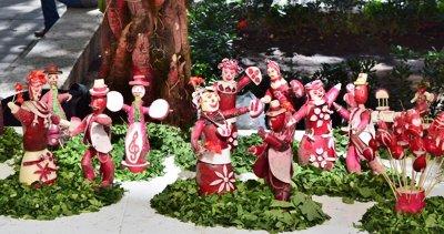 Фестиваль редиски снова прошел в Мексике