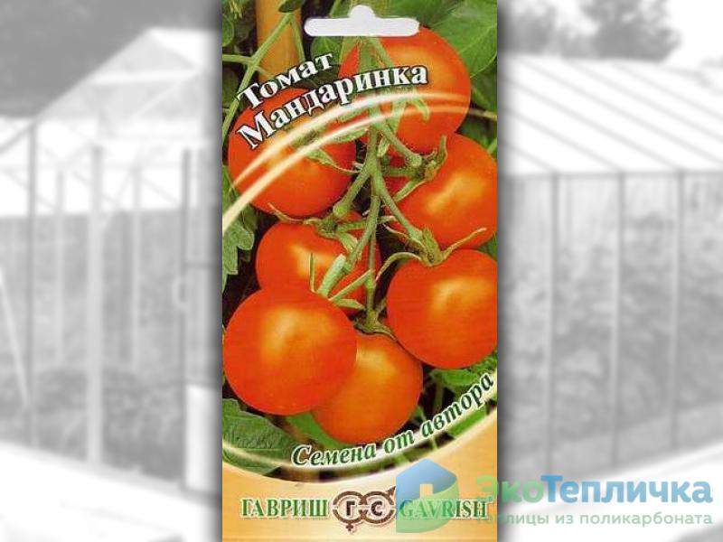 сорт помидоров мандаринка