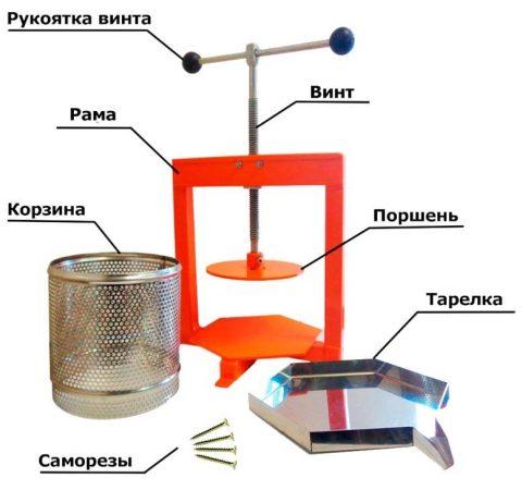 Пресс из металла
